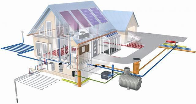 установка водопровода в частном доме