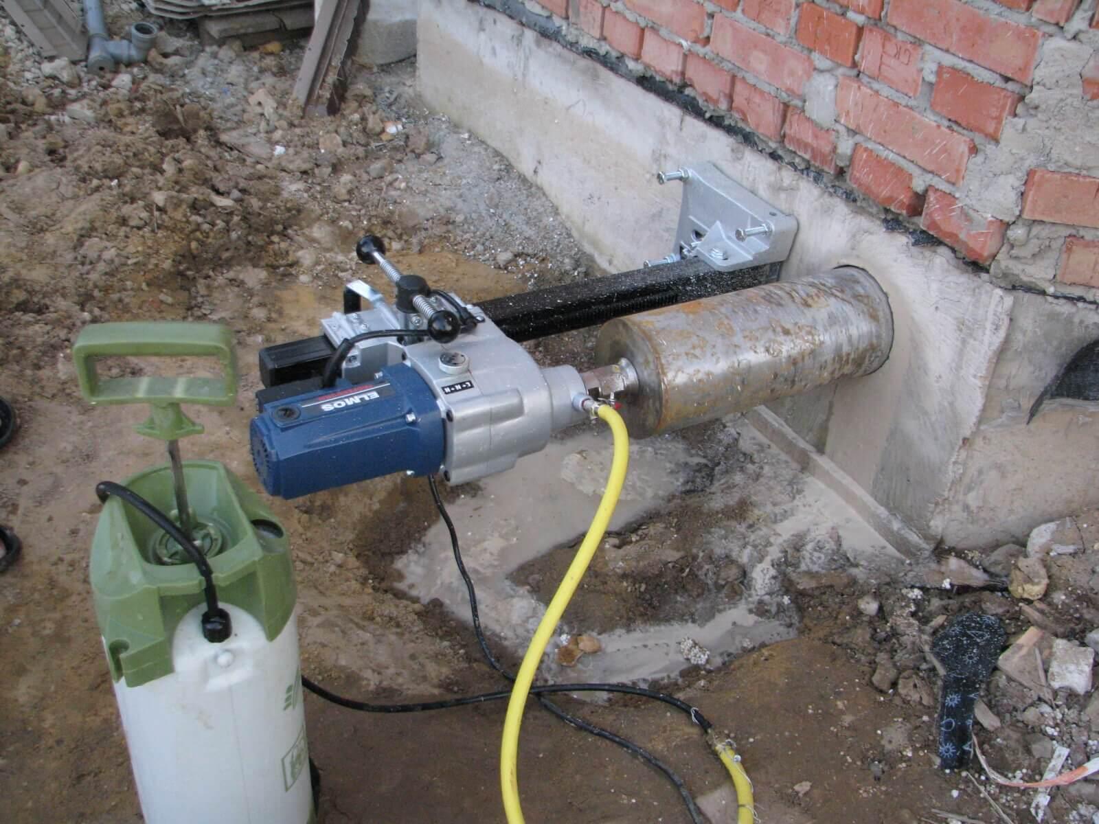 выпуск канализации